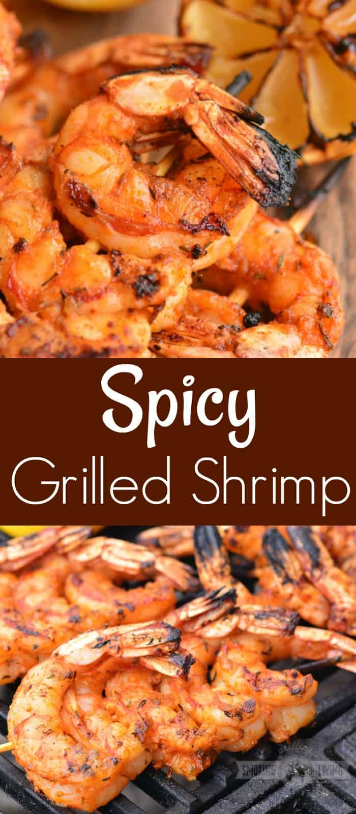grilled shrimp long collage