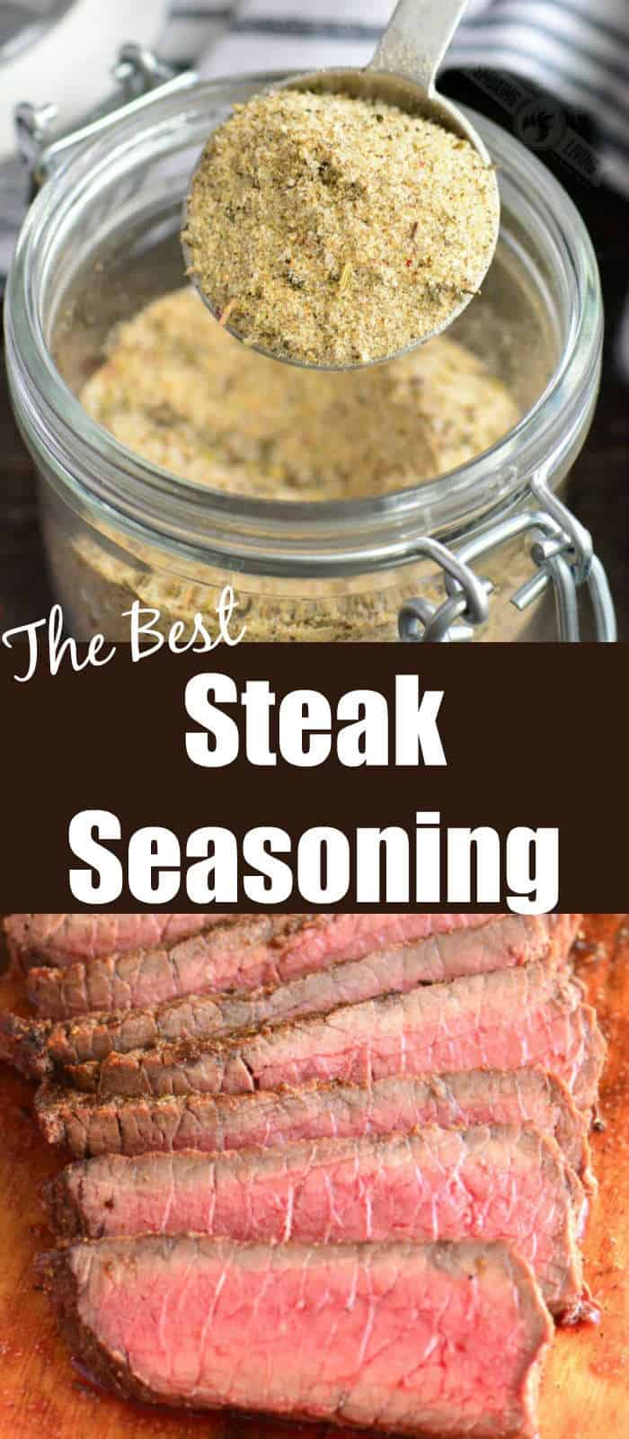 steak seasoning long collage