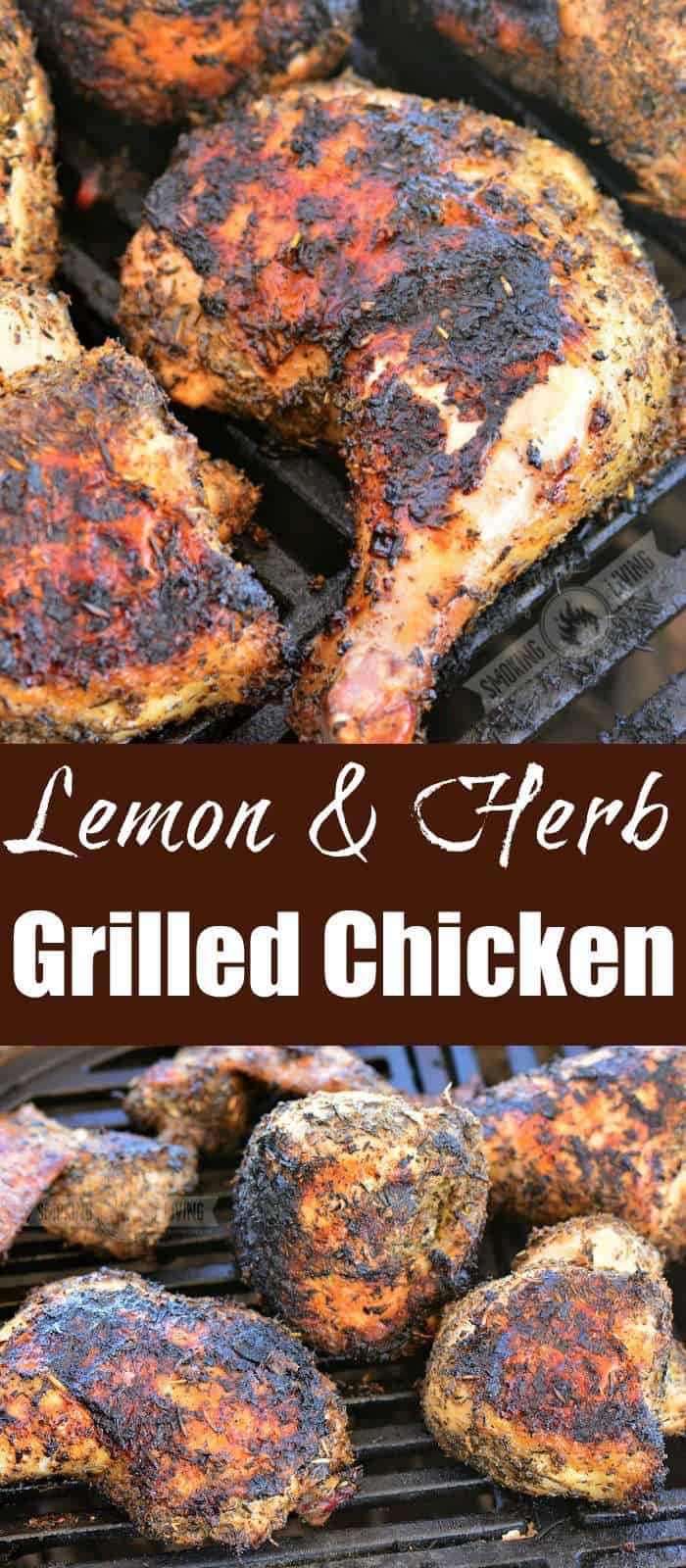grilled chicken collage