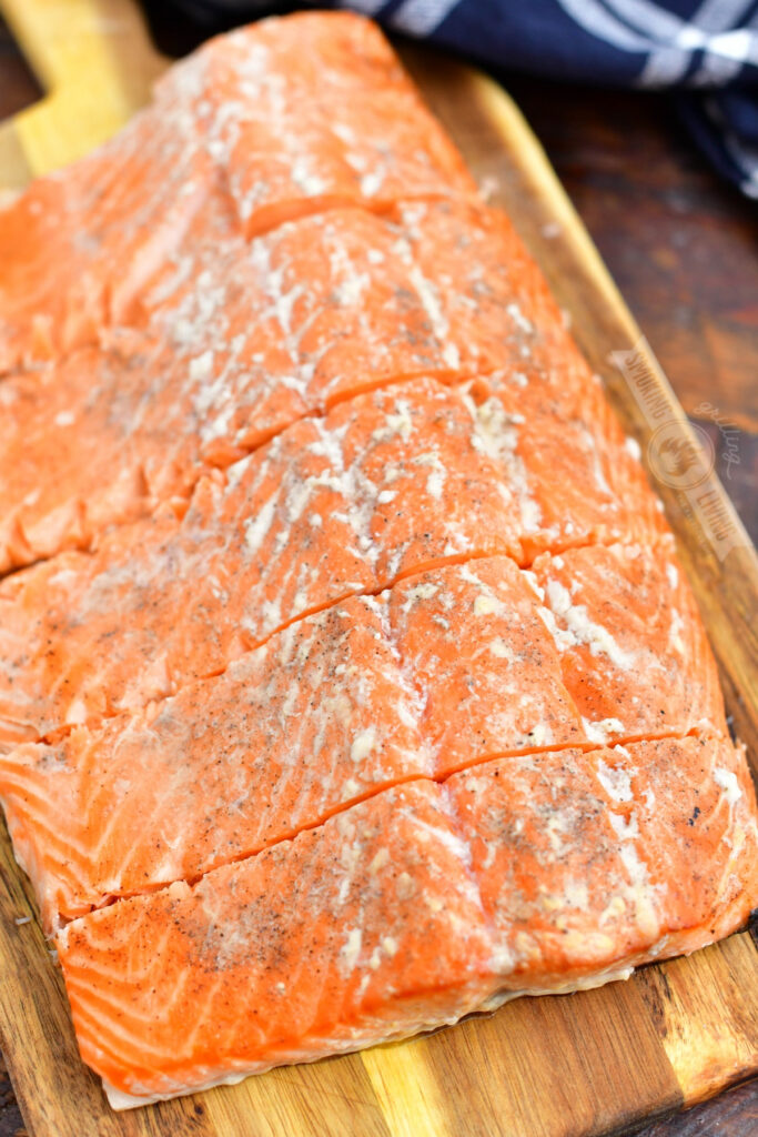 sliced smoked salmon whole side filet